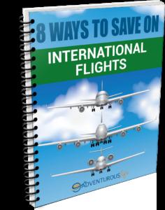 8 Ways to Save on International Flights